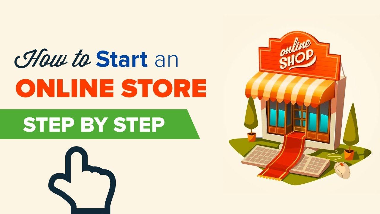إنشاء متجر الكتروني وإعداده ثم عرض منتجاتك فيه