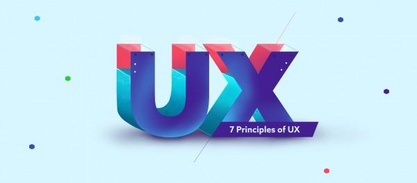 7 مبادئ لـ تصميم تجربة مستخدم جيدة